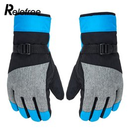 Wholesale Ski Gloves Durable Touch Screen Skiing Keep Warm Winter Warm Gloves Riding Glove Mobile Phone Bicycle Waterproof