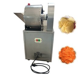 slicer dice Canada - 240A type Stainless Steel Automatic Vegetable and Fruit Dicing Machine slicer machine 1500W