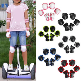 Wrist roller online shopping - 6 Kid Child Roller Skating Cycling Bicycle Skateboard Helmet Knee Wrist Guard Elbow Pad for Sports Safety Sportswear Access