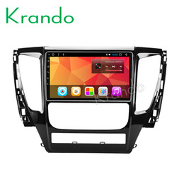 "touch screen car systems NZ - Krando Android 8.1 10.1"" IPS Full touch screen car multimedia player for For MITSUBISHI PAJERO 2016 GPS navigation system BT car dvd"