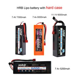 battery charge for car Australia - Clearance Sale HRB RC Lipo Battery 2S 3S 4S 5S 6S 2200mah 2600mah 2700mah 5000mah 6000mah XT60 Deans Plug for RC Car helicopter