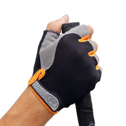 weighted gloves for men NZ - 2020 Hot Outdoor Sports Half Finger GEL Gloves for Men Women's Gym Fitness Weight Lifting Body Building Workout Running Exercise Training