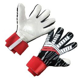 Vente en gros gants de gardien de but de football pour adultes gants de formation de gardien de but Gantry conception de poignet prolongé sans doigt