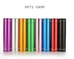 wholesale blank cell phone cases Australia - Portable Power Bank Box 18650 Li-ion Battery Charger Blank Shell For Cell Phone Tablet Electronics External USB Power Bank Case