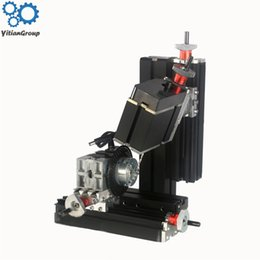 power drill machine Australia - Miniature Metal Six-axis Drilling Milling Machine Low-power Teaching Model High-Precision Production DIY Tools 12V