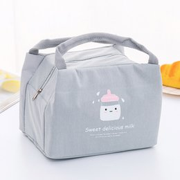 $enCountryForm.capitalKeyWord Australia - Bag Insulation Package Portable Waterproof Oxford Cloth Lunch Bags With Rice Lunch Box Tote Picnic Storage Bag Pouch Bags