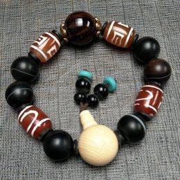 Großhandel NEUES ANGEBOT, chinesischer natürlicher Achat:, Handketten Natürliche bunte Achat 10mm Perlen Armbänder versandkostenfrei Auf Verkauf A3268