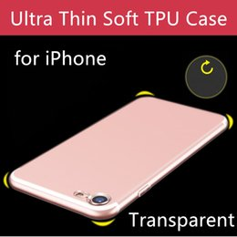 $enCountryForm.capitalKeyWord Australia - Super Ultra Thin Soft TPU Transparent Clear Phone Case Protect Cover Soft Cases For iPhone 6 7 8 plus X XR XS Max