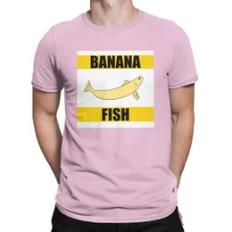 2988b41fc 2019 men s designer clothing tshirt Banana Fish Anime Japanese Ash Eiji  Comic T Shirt Men Original Clothes Vintage T-Shirts Crew Neck Cotton