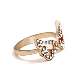 $enCountryForm.capitalKeyWord NZ - Korean version fashion jewelry lovely micro zircon angel wing open ring finger ring lady accessories