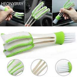 $enCountryForm.capitalKeyWord Australia - 1PCS Car Washer Microfiber Car Cleaning Brush For Air-condition Cleaner Computer Clean Tools Blinds Duster Care Detailing
