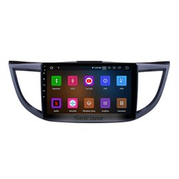 Honda crv dvd online shopping - 10 Inch Android Car Multimedia Player for Honda CRV high version with Bluetooth GPS navigation G WiFi support DVR car dvd