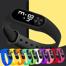$enCountryForm.capitalKeyWord Australia - Fashion Digital LED Sports Watch Unisex Silicone Band Wrist Watches Men Women