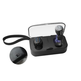 Chinese  Ti8s Bluetooth 5.0 Earphones TWS Wireless Earphone In-Ear Handsfree Sports Earbuds with Mic Charging Box manufacturers