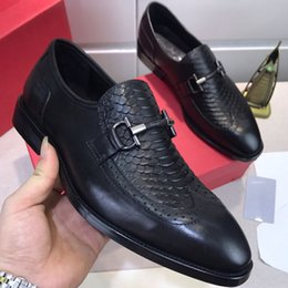 wide shoes sale Canada - Hot Sale-[With box] luxury designer fashion brand men's dress shoes super star shoes leather men's red bottom designer shoes