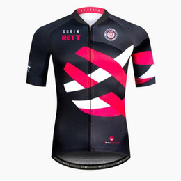 Chinese  PRO MTB GOBIK Men's Cycling Jersey 2018 Team MTB Short Sleeve Jerseys Breathable Mountain Bike Bicycle Jersey Clothing Sport Wear Shirt manufacturers