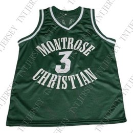87882ba0a wholesale Kevin Durant  3 Montrose Christian Basketball Jersey New Green  Stitched Custom any number name MEN WOMEN YOUTH BASKETBALL JERSEYS
