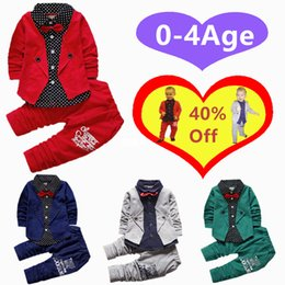 Wholesale 2019 Children three piece Sets Baby Boys Girls Clothing Sets Kids Bow coat pant Clothing Set Baby Girls Autumn Suit Set
