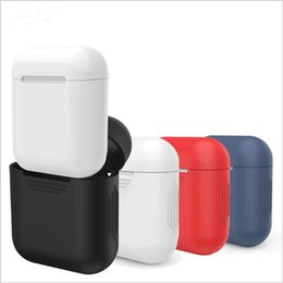 $enCountryForm.capitalKeyWord Australia - For Apple Airpods Air Pods Silicone Case Protective Cover Pouch Anti Lost Protector Elegant Sleeve Fundas Accessories
