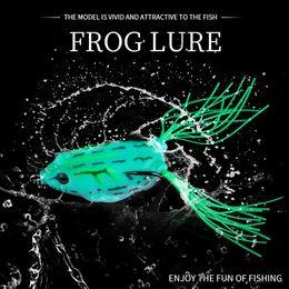 $enCountryForm.capitalKeyWord Canada - Hengjia 60pcs Topwater Frog lure High carbon Soft Bait 5.5CM 12.5G Fresh Water Bass Walleye Crappie Minnow soft forg Lure