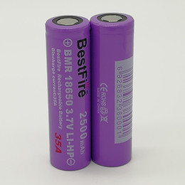 Free Fedex shipping online shopping - 100 High Quality BestFire Battery mAh V A Batteries Rechargable Lithium Batteries Fedex