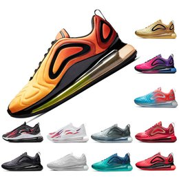 4fe1da8a8 Sunrise Gold 720 running shoes mans trainers sports sneakers Black White  Red Blue Grey Sunset Rainbow women desinger shoes size Eur 36-45