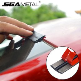 car window rubbers UK - Seals Car Window Seal Rubber Strips Auto Roof Windows Edge Stickers Noiseproof Sound Insulation Auto Waterproof Dustproof Weatherstrip