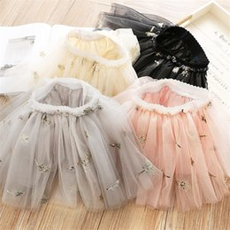 $enCountryForm.capitalKeyWord Australia - 4 Colors Little Girls Tutu Skirt Princess Quality Gauzy Skirt Leaf Designs Mini Lovely Children Girls Ruffles Party Dresses Children Clothes