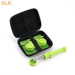 $enCountryForm.capitalKeyWord Australia - Wholesale Oil Burner Glass Water Pipes Silicone Smoke Nectar Collector Pipe Accessories set with Zipper bag package