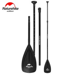 Paddle Sports Australia - Naturehike Aluminum titanium Paddle Adjustable Travel Stand-up Paddle Surfing Board Water Sport Board Suitable For