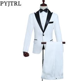 86debc5b4da1 Diseño De Pantalón De Abrigo Blanco Negro Online   Diseño De ...