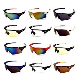 Best unisex Bicycle online shopping - 2019 Best Seller Cycling Glasses Cool Men Women Sports Glasses Goggles MTB Eyewear Bicycle Sun Glasses Spectacles Gafas