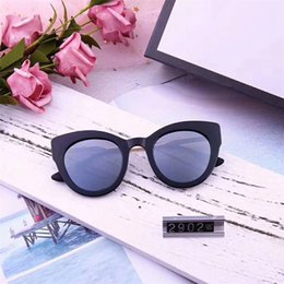 $enCountryForm.capitalKeyWord Australia - 2019 Hot Avant Sunglasses Cat Eye Women Glasses UV Protection Street Outdoor Shades Shield Eyewear Fashion Oval Sunglasses with Retail Box