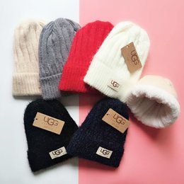 8afa8ece822 New fashionable hat winter men and women thicken the knitted hat MAO qiu hat  brand warm cover cap