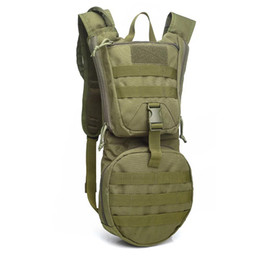 Camel Water Pack Australia - Men Tactical Backpack Water Bag Pack Camping Camelback Nylon Camel Water Bag Hydration for Cycling Hunting Outdoor