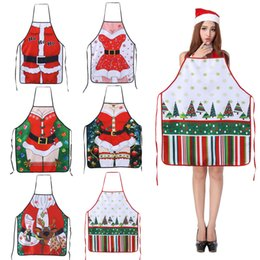 $enCountryForm.capitalKeyWord Australia - Christmas Decorations Ladies Men Sexy Aprons for Adults Dinner Party Cooking Apron Kitchen Accessories New Year Supplies