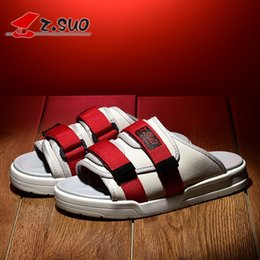 $enCountryForm.capitalKeyWord Australia - 2018 zsuo men's most popular fashion sandals, male canvas outdoor solid color slippers , free shipping #45850