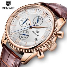 $enCountryForm.capitalKeyWord Australia - Benyar Men's Watch Fashion sport quartz Watch Men Wristwatch Mens Clock Top Brand Luxury Leather Watches Men Relogio Masculino MX190724
