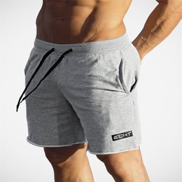 Male Compression Shorts Australia - Brand 2018 Men's Compression Shorts High Waist Drawstring Loose Summer Beach CasualRunning Breathable Elastic Male Shorts
