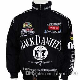 Venta al por mayor de Venta caliente 2018 Nuevo F1 Racing Suit Jack Daniel Chaquetas Ropa de otoño e invierno Hombre chaqueta de manga larga chaqueta de la motocicleta Envío de la gota