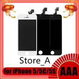 Iphone 5c Screens Panels Australia - LCD Display For iPhone 5 5S 5C SE Touch Screen Digitizer Assembly Replacement LCD Touch Panel 100% Tested