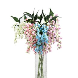 wedding center piece decorations Australia - artificial flower lily of the valley for large vase floor vase flower center piece wedding decoration