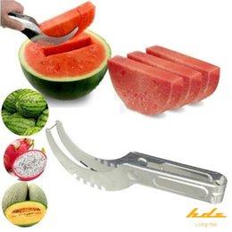 Cutter Fruit Watermelon Australia - Watermelon Cutter Knife Cucumis Melon Cutter Chopper Fruit Salad Cucumber Vegetable Fruit Slicers Kitchen Cooking Tools