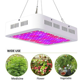 Wholesale Led Grow Light W W W Full Spectrum Led Grow Tent Covered Green houses Lamp Plant Grow Lamp for Veg Flowering Aluminium DHL