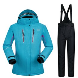 $enCountryForm.capitalKeyWord UK - Women Ski Suits Brands 2019 High-Quality Waterproof Snow Sets Super Warm Winter Jacket And Pants -30 Degree Skiing And Snowboarding Suits