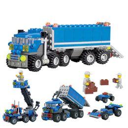 $enCountryForm.capitalKeyWord Australia - dumper truck 163 Pieces Child Educational Dumper Truck DIY Toys Building Block Sets Intelligent Development Toys Children Birthday Gift