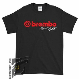 Race Tees Australia - Brembo Racing Braking Performance Logo T-Shirt Size S to XXL #041 Men Women Unisex Fashion tshirt Free Shipping Funny Cool Top Tee Black
