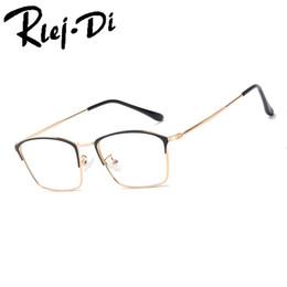 8784ca62d2c NZ004 Half Rim Optical Glasses Frame Men Brand Design Myopia Glass Frames  Fit For Clear Lens Oculos De Grau Fashion Eyewear