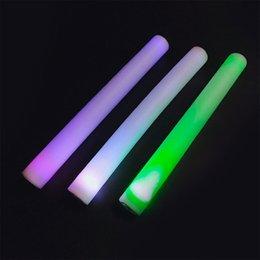 Manufacturers sponges online shopping - Supply concert cm colour glow stick sponge foam sponge glow stick bar singing manufacturer