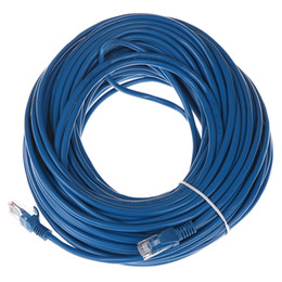 EthErnEt cablE intErnEt online shopping - 32 m FT RJ45 Ethernet Cables Connector Ethernet Internet Network Cable Cord Wire Line Blue Rj Lan CAT5e Ethernet Cable